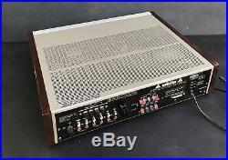 Vintage Denon DRA-700 AM/FM Stereo Tuner Amplifier Receiver Mint Working