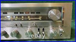 Vintage Kenwood KR-8010 AM-FM Stereo Tuner Amplifier Serviced READ DETAILS