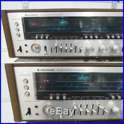 Vintage Kenwood Model Eleven GX AM/FM Stereo Tuner Receiver For Parts/Repair