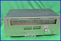 Vintage Marantz 2020 AM/FM Stereo Tuner Tested