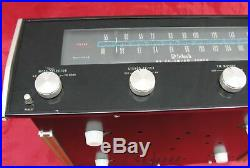 Vintage Mcintosh Mr73 Am/fm Stereo Tuner Mr-73 Powers Up For Parts Repair
