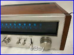 Vintage Pioneer TX-9100 Stereo Tuner Radio AM/FM