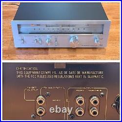 Vintage Pioneer TX-9500II Stereo AM/FM Tuner Works Great