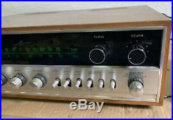 Vintage Sansui 1000X Solid State AM/FM Stereo Tuner Amplifier (1970-73)