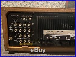 Vintage Sansui AM/FM Stereo Tuner Amplifier 5000A Wood Case