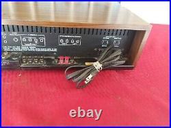 Vintage Sansui Stereo Receiver 221 2 Channel Tuner Amp AM FM AUX Phono Tape