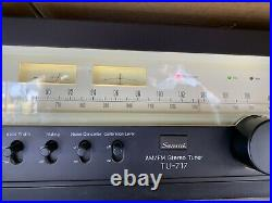 Vintage Sansui TU-717 AM/FM Stereo Tuner