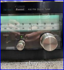 Vintage Sansui TU-9900 AM/FM Stereo Tuner FULLY TESTED! VERY NICE
