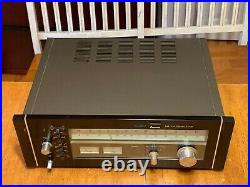 Vintage Sansui Tu-9900 Am/fm Stereo Tuner Perfectly Working Fine Example