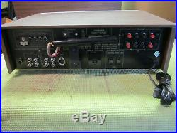 Vintage Stereo Receiver Amplifier Pioneer SX-434 AM/FM Tuner Aux Phono Works