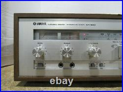 Vintage Yamaha CR-620 Natural Sound AM/FM Stereo Receiver Tuner 35W per Channel