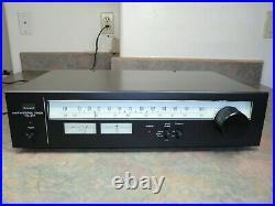 XLNT SANSUI AM FM STEREO TUNER TU-217 TU217 Vintage Audio Receiver + Cables