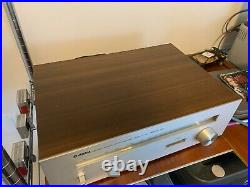 Yamaha Ct-410 Natural Sound Am Fm Stereo Nfb Pll Tuner Mpx - MID Century Modern